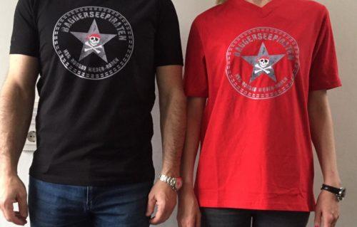 HSG Fanshirt Rot und Schwarz