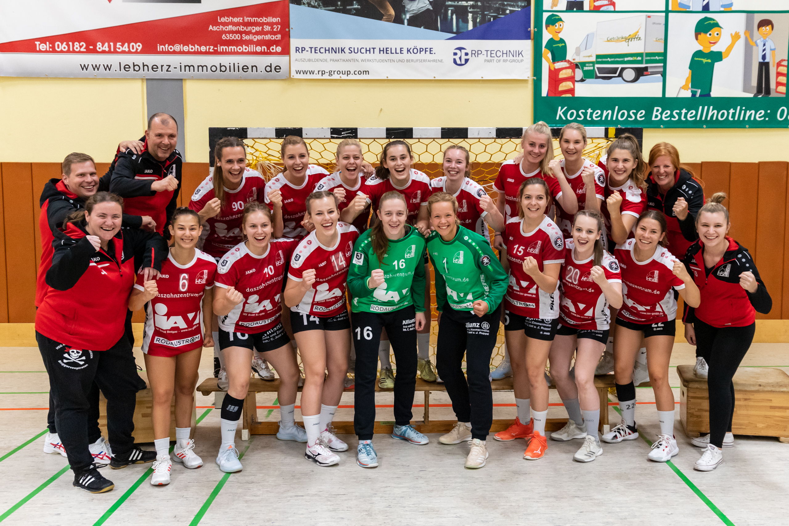 Team Damen 1 20/21 Aktiv